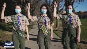 Bay Area teens among first girls to achieve Eagle Scout rank