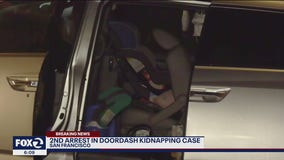 2nd arrest made in San Francisco kidnapping of DoorDash driver's children