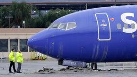 Pilot error to blame in landing of Southwest jet that overshot Southern California runway
