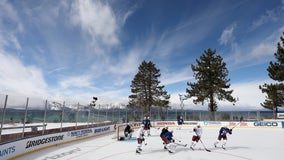 Tahoe backdrop is 'mic drop' moment for outdoor NHL games
