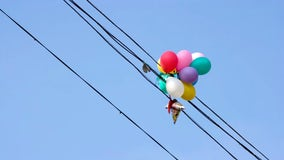 PG&E issues warning about metallic balloons ahead of Valentine's Day holiday