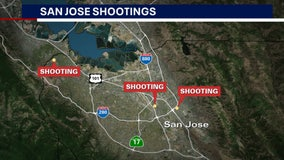 1 killed, 3 wounded in early morning San Jose shootings