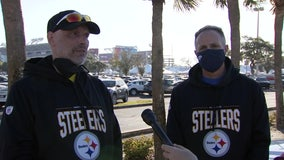 Best friends, 1 with terminal cancer, fulfill 'bucket wish' of attending Super Bowl
