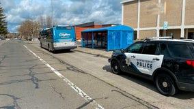 Man shot in arm at Santa Rosa bus stop, suspect at large