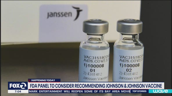 FDA to recommend authorization for Johnson and Johnson vaccine