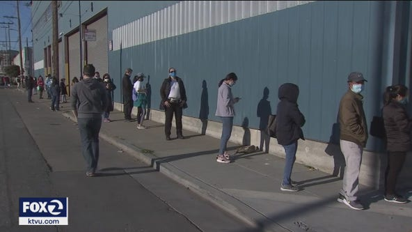 Drop-in vaccination site opens for hard hit San Francisco areas