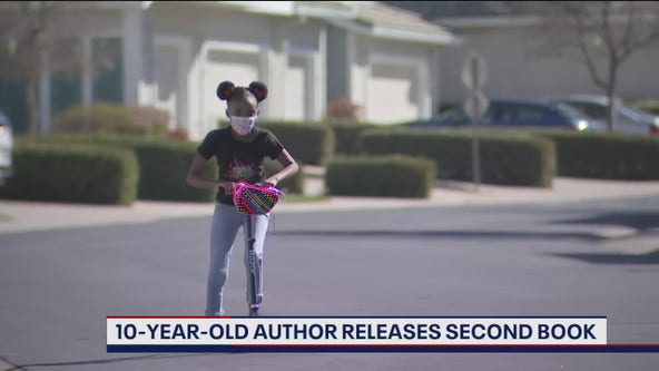 10-year-old Bay Area author releases second book