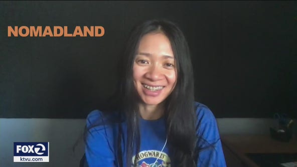 """Filmmaker recalls shaping characters in """"Nomadland"""""""
