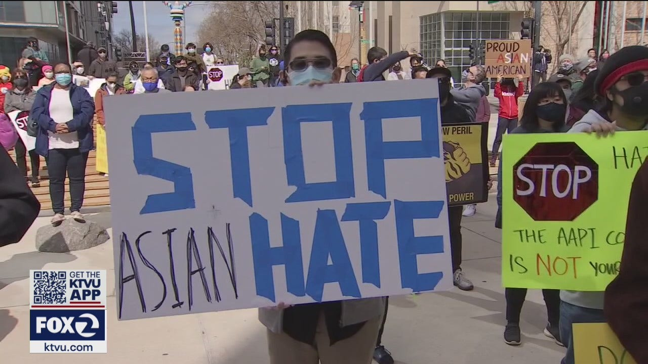 www.ktvu.com: South Bay rally held to call attention to hate crimes against Asian American community