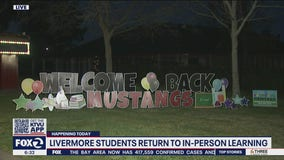 K-12 Livermore students head back to school for limited, hybrid school