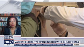 Vaccine eligibility to expand in California this week