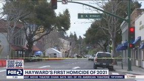 Hayward police investigate 1st homicide of 2021