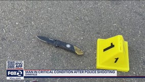 Man shot by Danville police was holding small knife