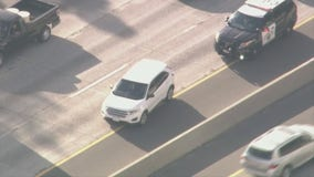 San Fernando Valley pursuit of vehicle stolen from Concord