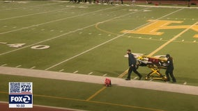 High school football player dies after collapse during game