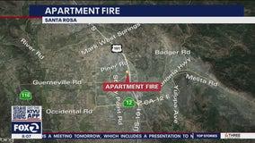 Santa Rosa apartment fire kills cat, causes $100,000 in damage
