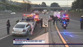 Person walking on I-80 in San Pablo killed by oncoming cars