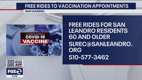 San Leandro offering free rides to vaccination appointments