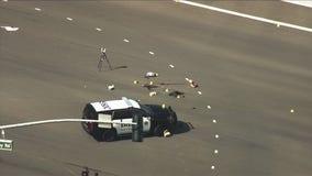 Crime scene investigation underway after officer-involved shooting in Danville