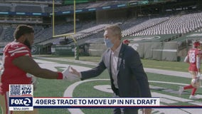 49ers trade to move up in NFL draft