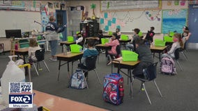 CDC changes school guidance allowing desks to be closer; California teachers union skeptical