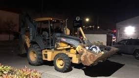 Police arrest man who went on joyride in stolen tractor