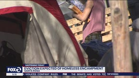 Police may move Santa Rosa homeless encampment after virus outbreak