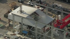 Fire at Tesla Factory confined to area under construction