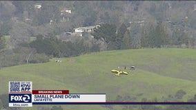 Small plane makes unscheduled landing near Lafayette reservoir