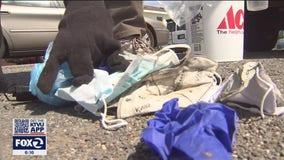 Bay Area volunteers noticing more PPE trash