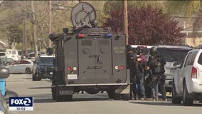 Armed suspect barricaded inside home in San Jose, police say