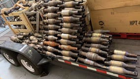 Marin County deputies seize hundreds of stolen catalytic converters