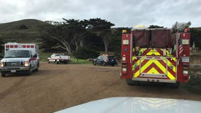 Firefighters rescue man stuck on cliff in Pacifica