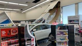Car plows into San Jose CVS store, no injuries reported