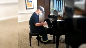 Arizona firefighter reveals hidden piano talent after responding to call at assisted-living facility