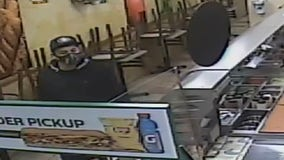 Redwood City police seek suspect in armed robbery of Subway sandwich shop