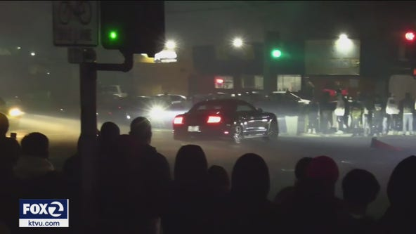 San Jose residents have mixed reaction to police sideshow enforcement