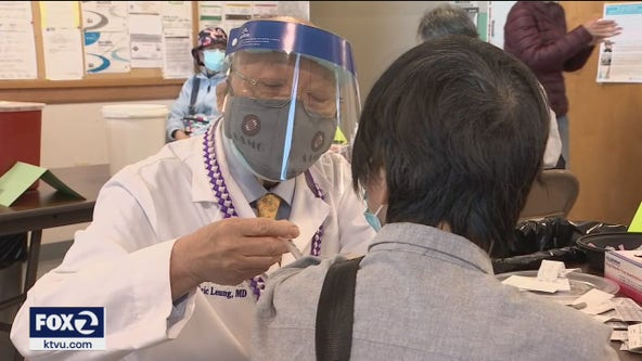 Doctors, nonprofit hold vaccine clinic for SF's Chinese-American community