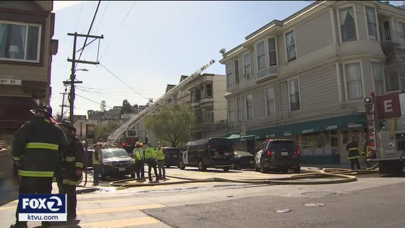 6 residents displaced in San Francisco Castro fire, police take suspect into custody