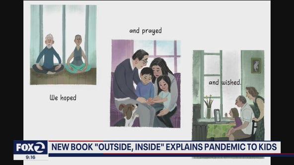Female author releases children's book on life in quarantine