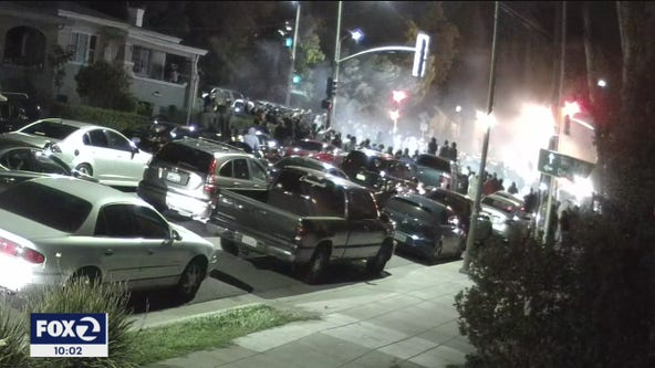 Frustrated neighbors concerned about safety and noise from Oakland sideshows