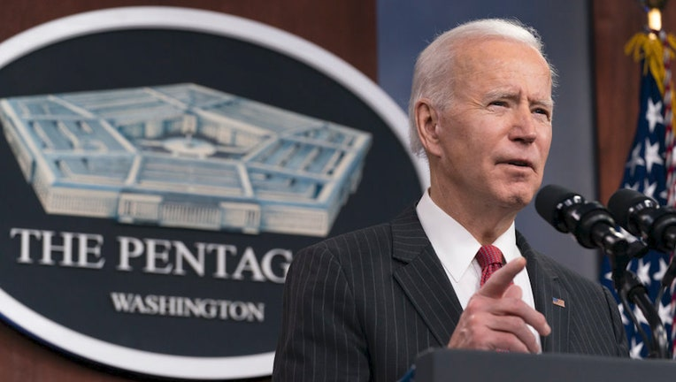 Biden at the Pentagon