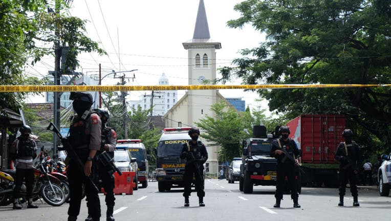 Several injured in church suicide bombing in Indonesia