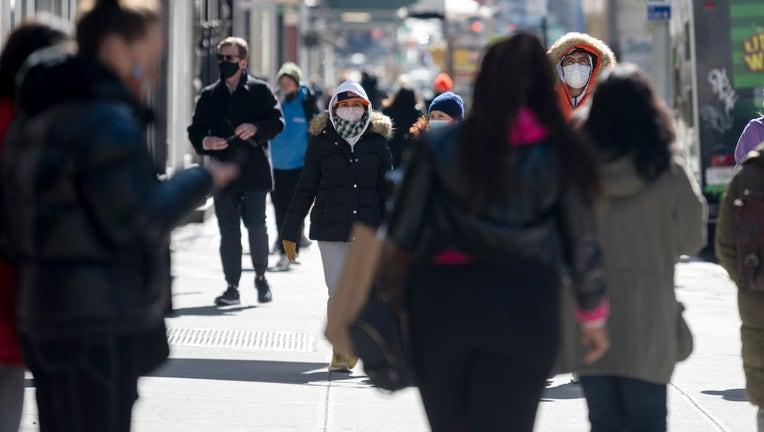 Daily Life in New York City Around The One-year Anniversary of The COVID-19 Shut Down
