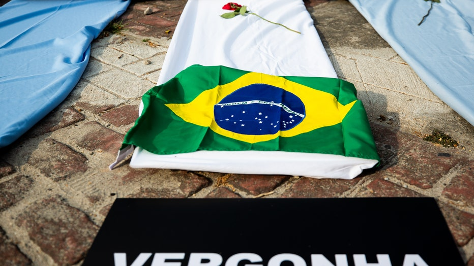 Brazil Hits 300,000 Fatal Victims of Coronavirus (COVID - 19)