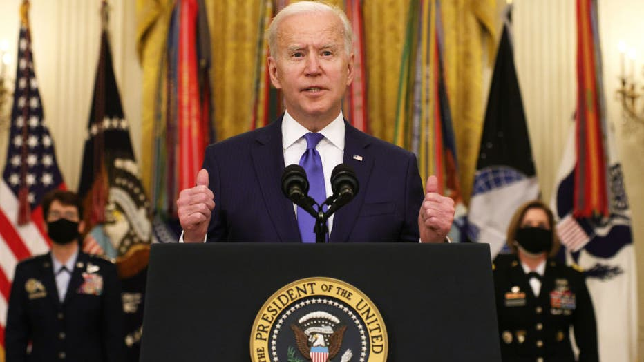 President Biden Delivers Remarks For International Women's Day