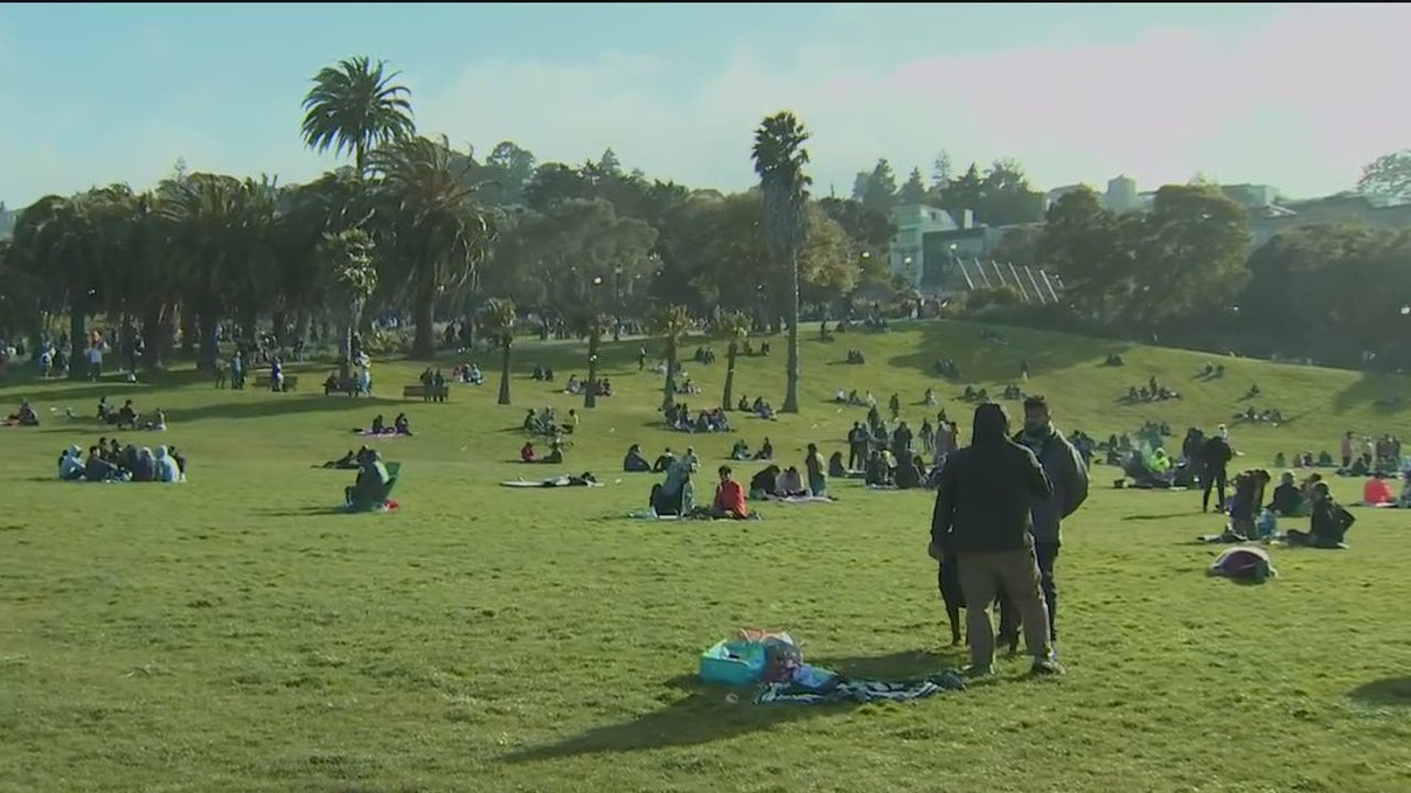 4/20 revelers try to celebrate safely, some vector to Dolores Park