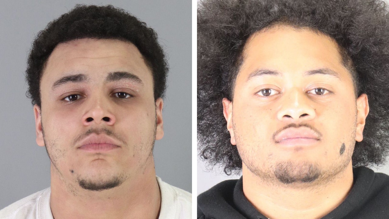 San Mateo police arrest two men in connection with weekend crime spree, seek third suspect