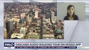 Exploring Oakland through an app-based audio walking tour