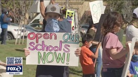 A year into pandemic, some Bay Area schools still closed for in-person learning